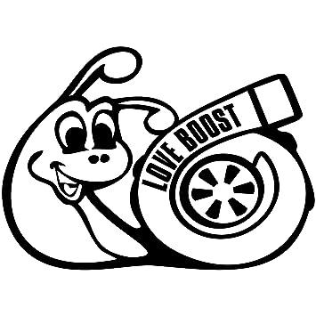 Love Boost Turbo caracol JDM DUB Drift Pegatinas Auto Adhesivo: Amazon.es: Coche y moto