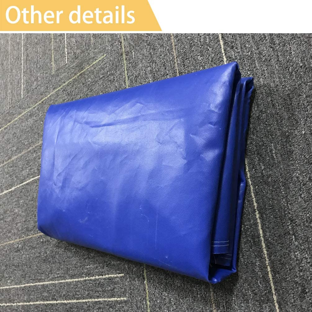 Heavy Duty 600D Marine Grade Polyester Canvas Waterproof Rainproof Center Console Cover Blue Oslimea Boat Center Console Cover