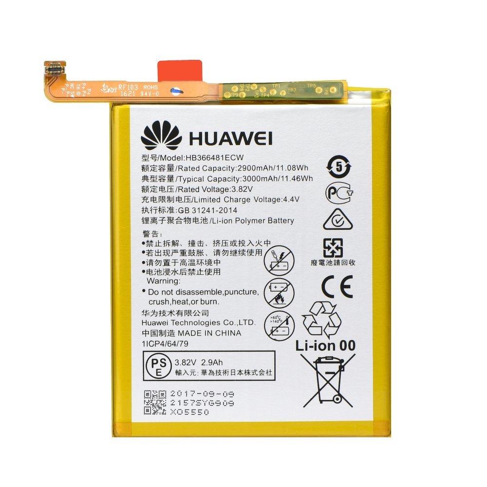 Bateria Original Huawei HB366481ECW con 3000 mAh de Capacidad - Carga rá pida 2.0 para Huawei P9 Lite - Bulk sin caja