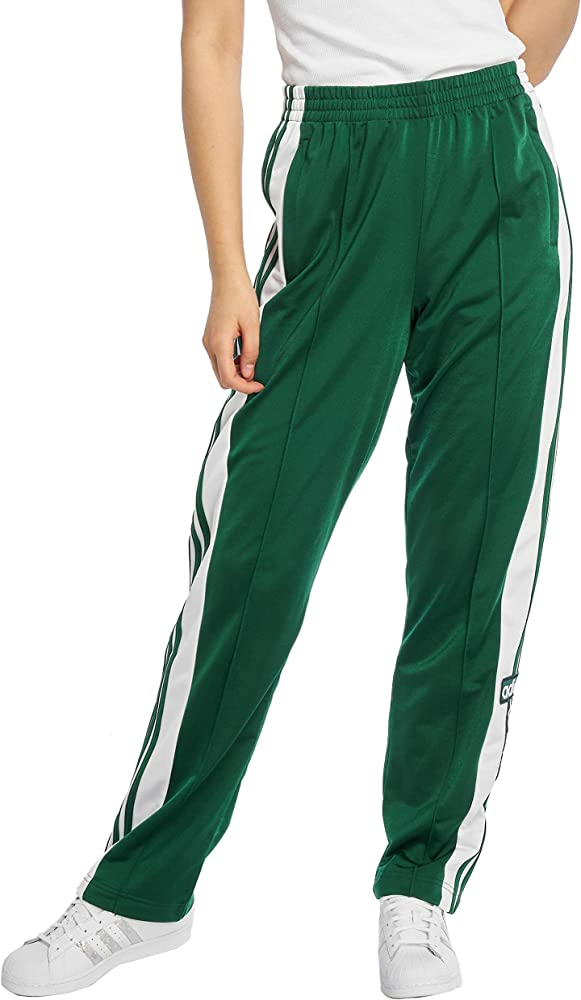pantaloni verdi donna adidas