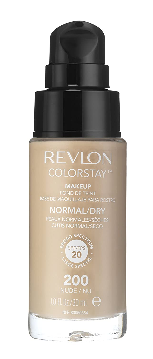 Revlon ColorStay Makeup, Normal/Dry Skin, Toast 370, Packaging May Vary, 1 Ounce 7212708010