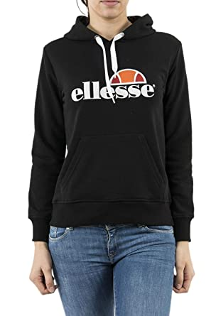 0113740267aa8 ellesse Eh F Hoodie Capuche Noir, Sweat-Shirt  Amazon.fr  Vêtements ...