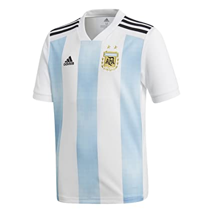 d9e7fbb59 Amazon.com : adidas Youth Argentina 2018 Home Replica Jersey ...
