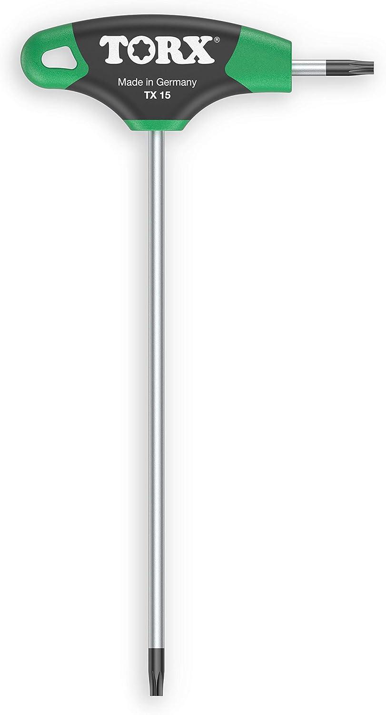 TORX® 70501 Destornillador con mango en T TX15, con Duplex Grip — Made in Germany