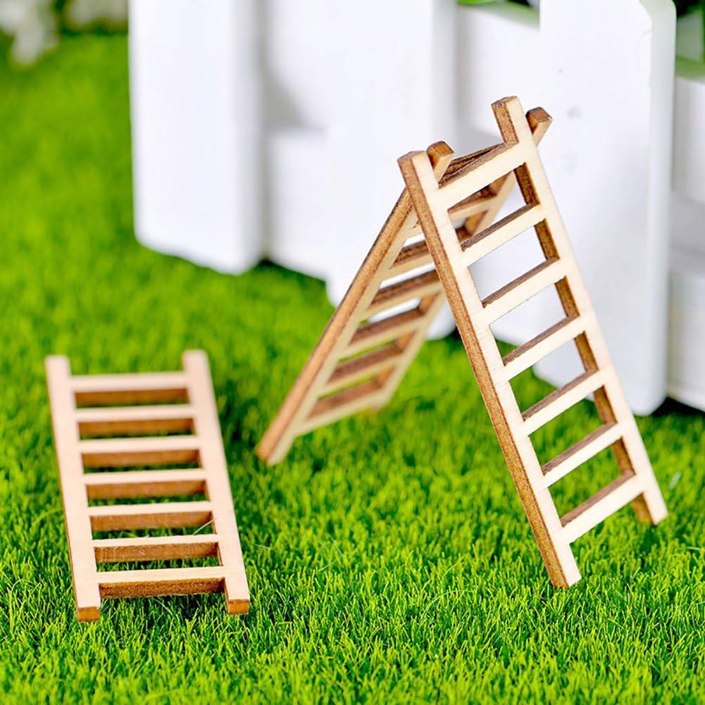 Mini Micro Paysage Décoration Escalier Craft plante miniature Bonsai Stakes