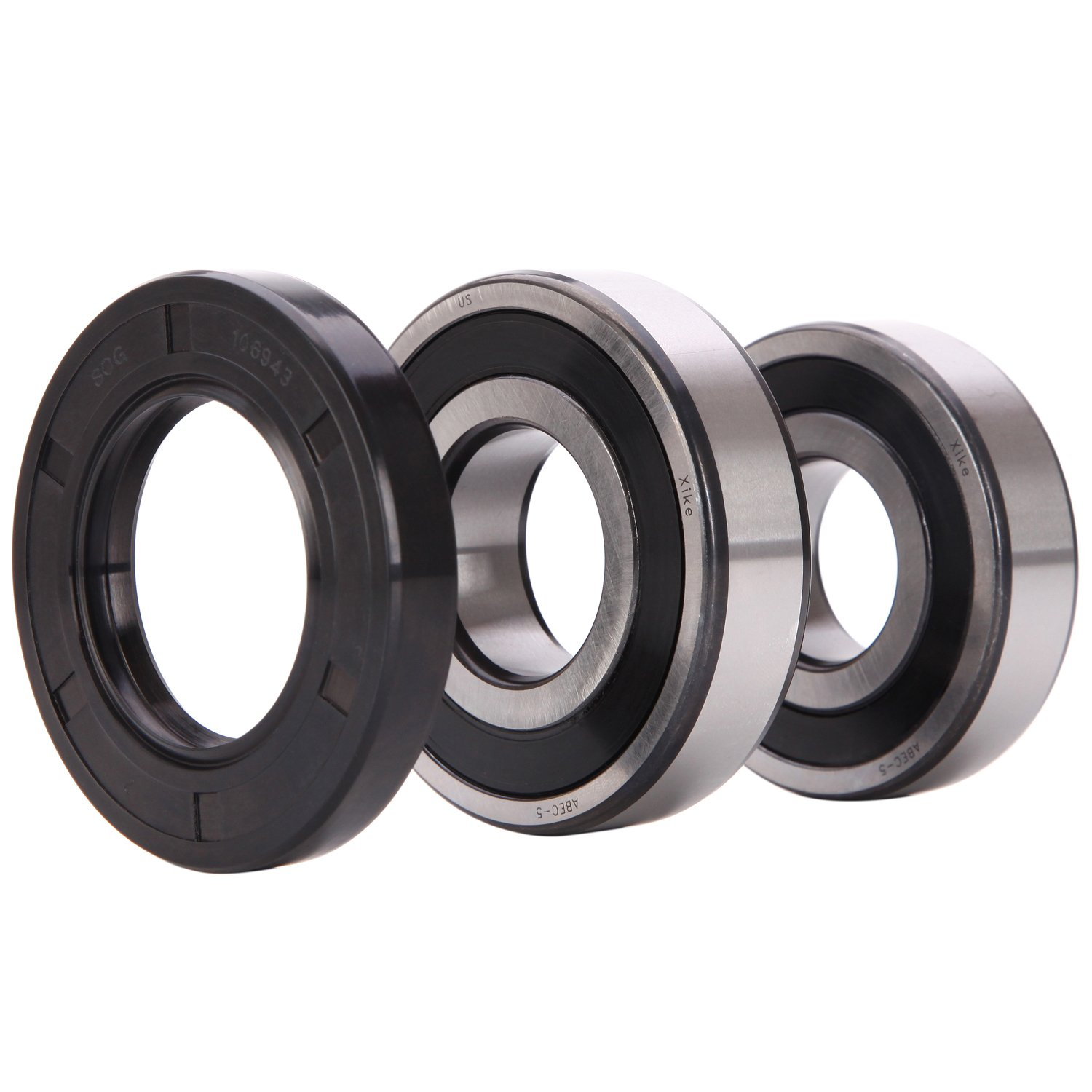 XiKe 134509510 Front Load Washer Tub Bearing & Seal Kit, Rotate Quiet and Durable Replacement for Frigidaire, Kenmore, Crosley Washer, AP3892114, 1191144, 134509500 Etc. by XiKe (Image #2)