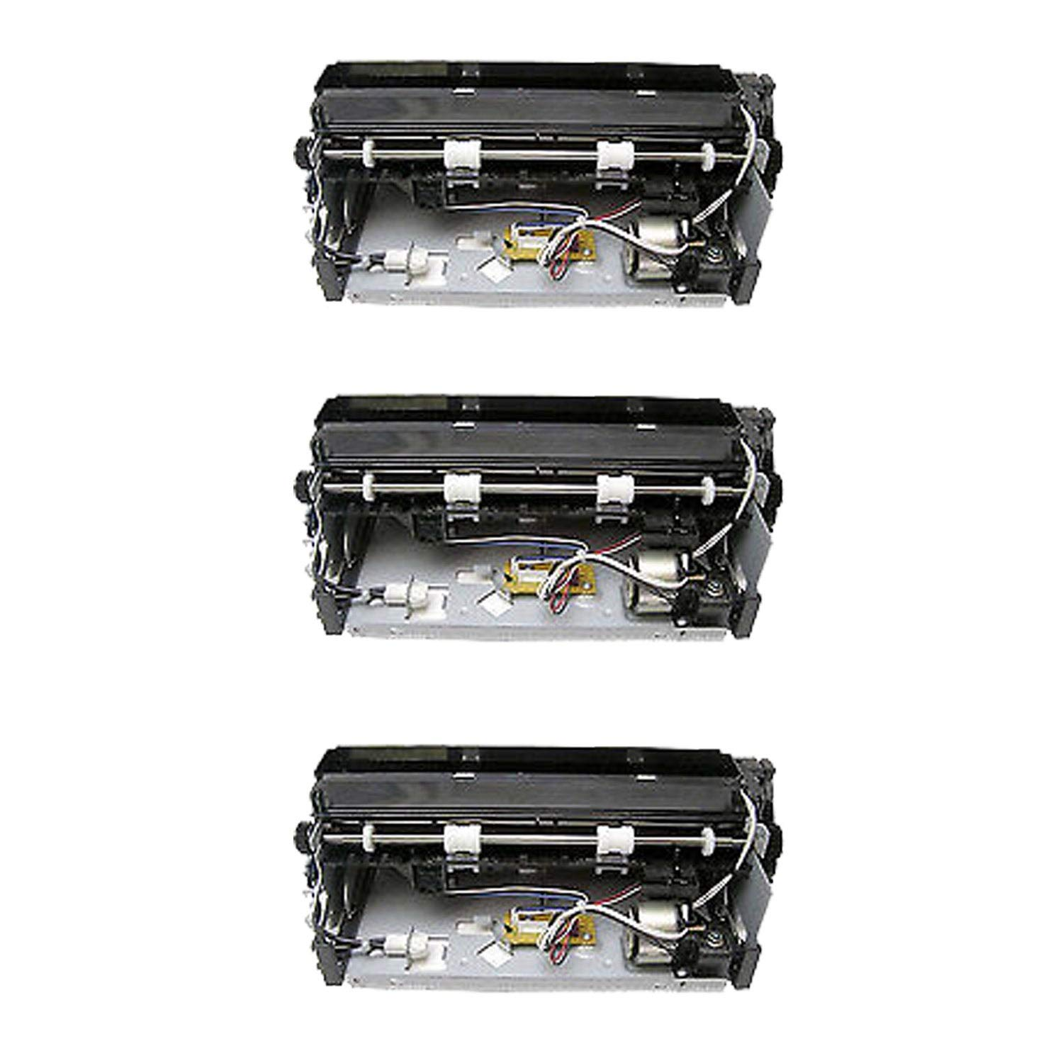 N&L Global CO. 3PK 56P2542 Compatible Fusers for Lexmark Optra T630 T632 (Pack of 3)