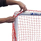 Park & Sun Sports Bungee-Slip-Net Replacement Nylon Goal Net: Soccer/Multi-Sport Goal, Orange, 24' W x 8' H x 6' D