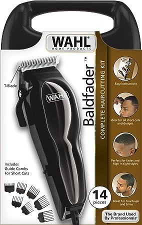 Wahl Baldfader - Cortapelos en estuche de almacenaje, color negro