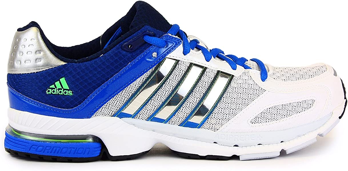 98d0724c5a282 adidas Supernova Sequence 5 Running Shoes - Running White Metallic  Silver Prime Blue (