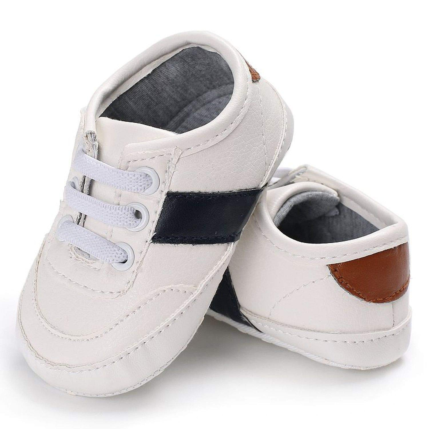 Beautymade Baby First Walkers Kid Fashion Soft Bottom Newborn Babies Shoes Pu Leather Prewalkers