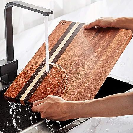 Compra ZTMN Tabla de Cortar,Tabla de Cortar de Madera Maciza Antideslizante Cocina Hogar Espesante Moho Durable (Color: 45 * 30 * 2.5cm) en Amazon.es