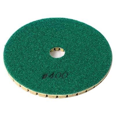"Specialty Diamond BRTW5400 400 Grit 5"" 6mm Premium Wet Polishing Pad: Home Improvement"