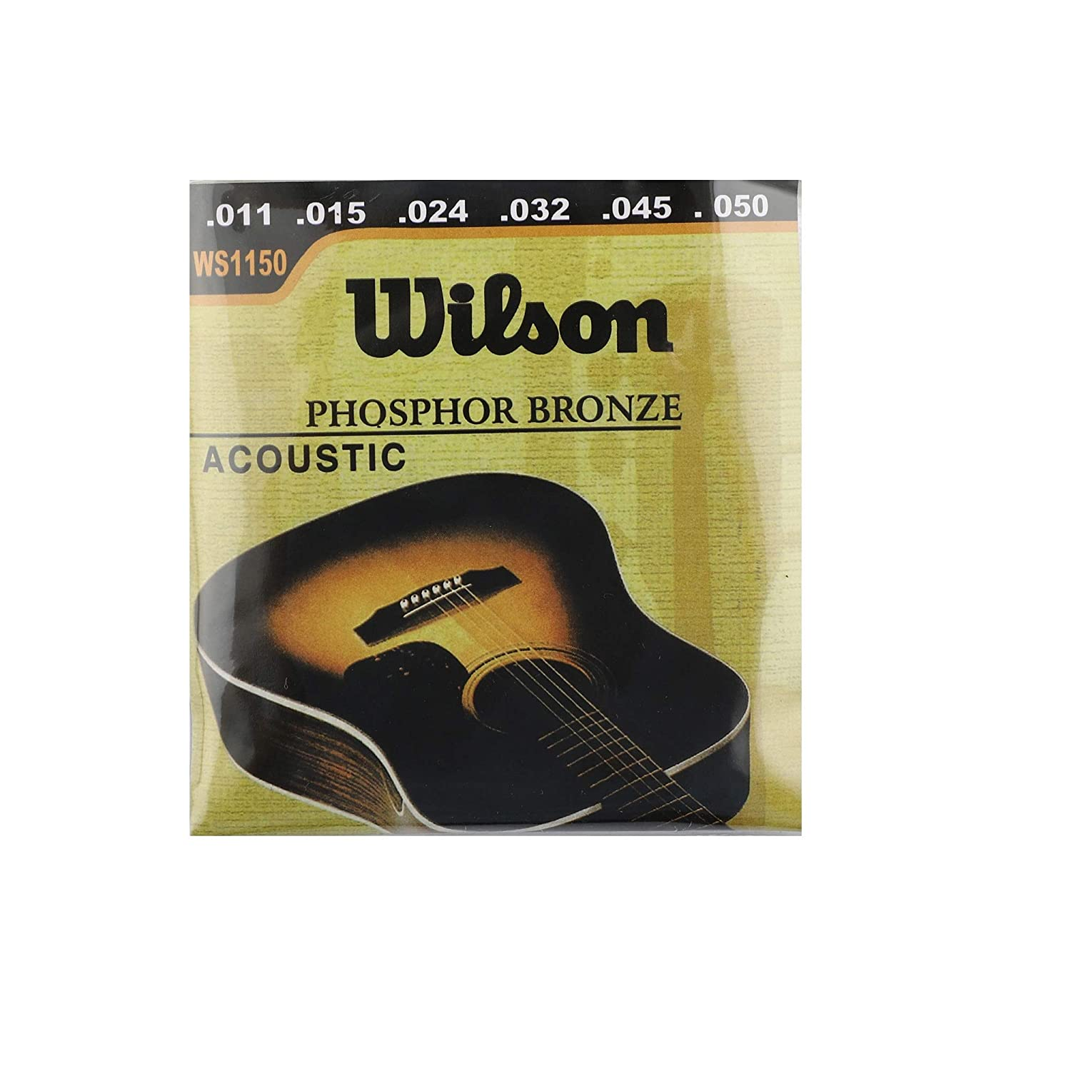 ketostics Wilson guitar string set acoustic phosphor bronze for acoustic guitars