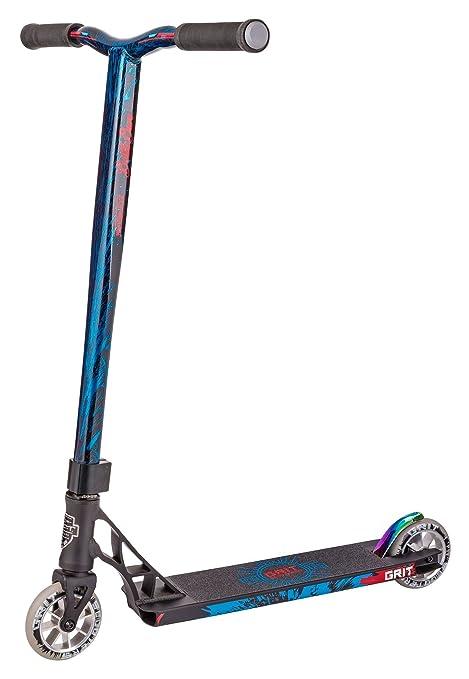 Satin Black Out Grit Elite Complete Pro Stunt Scooter