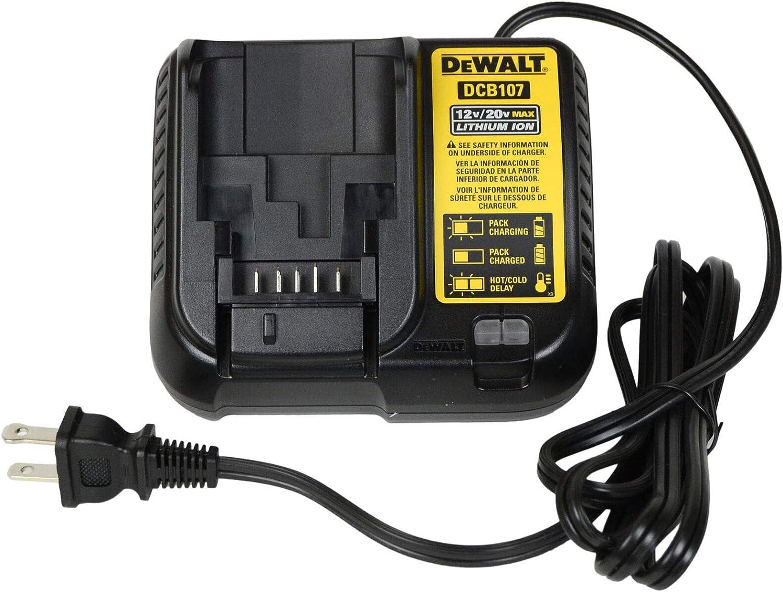 DeWALT DCB107 12V/20V MAX Lithium Ion Charger (Bulk Packed) - -