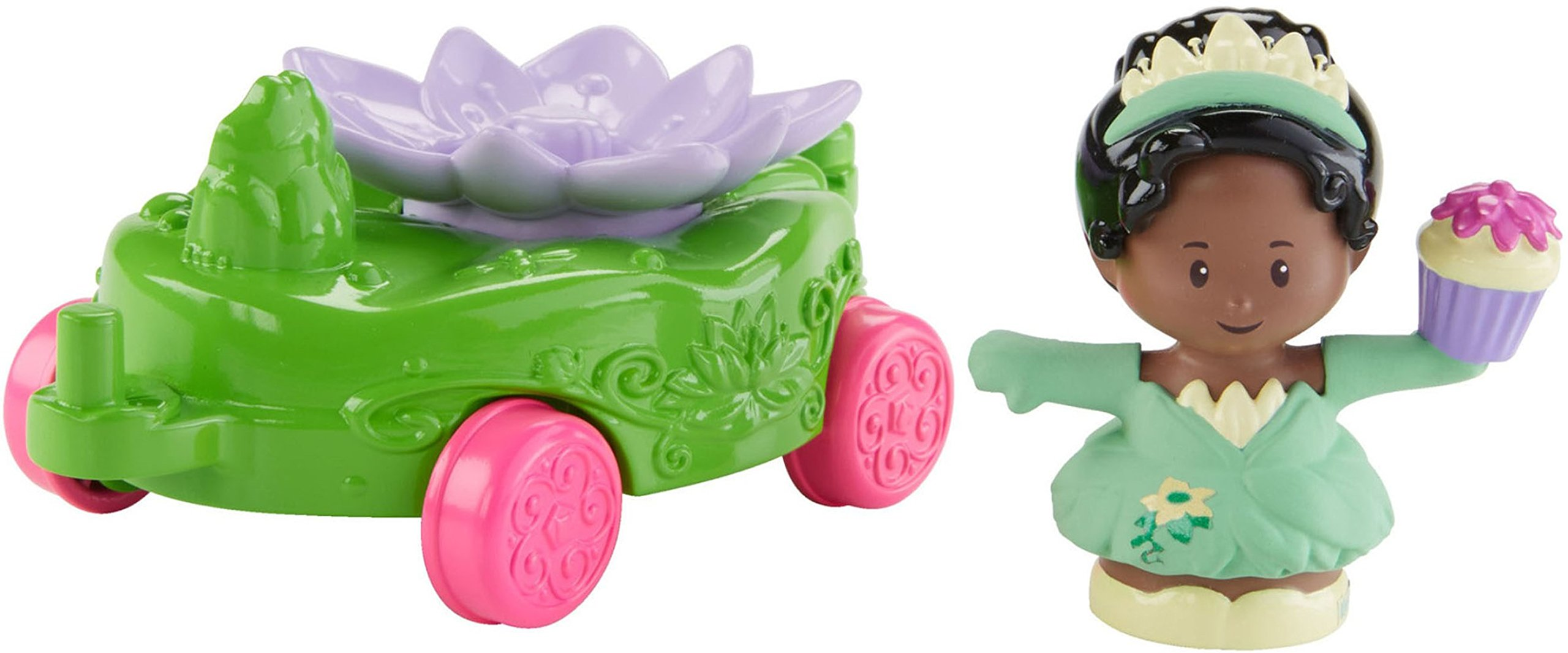 Fisher-Price Little People Disney Princess Parade Tiana & Prince Naveen's Float