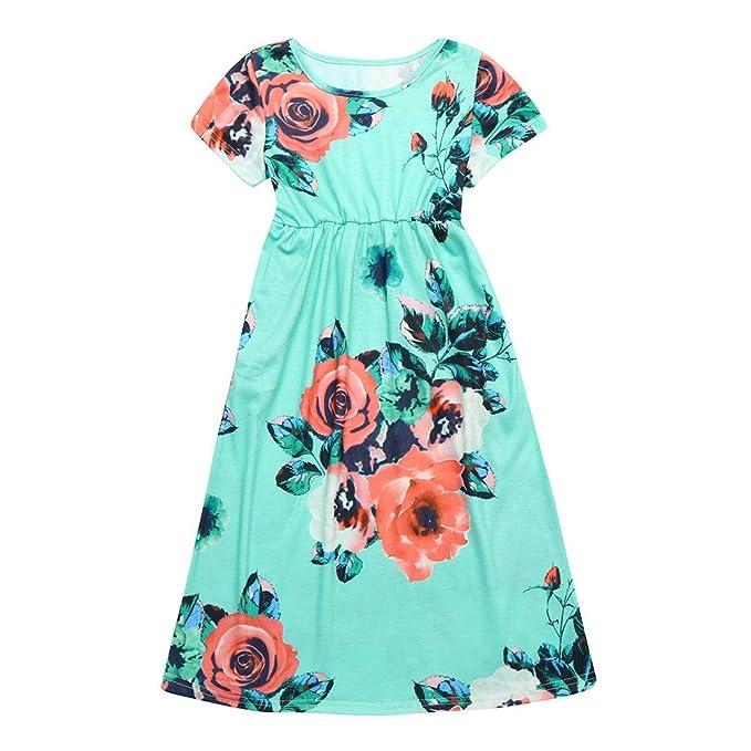 Amazon.com: tanhangguan niños Little Baby Girl vestidos ...
