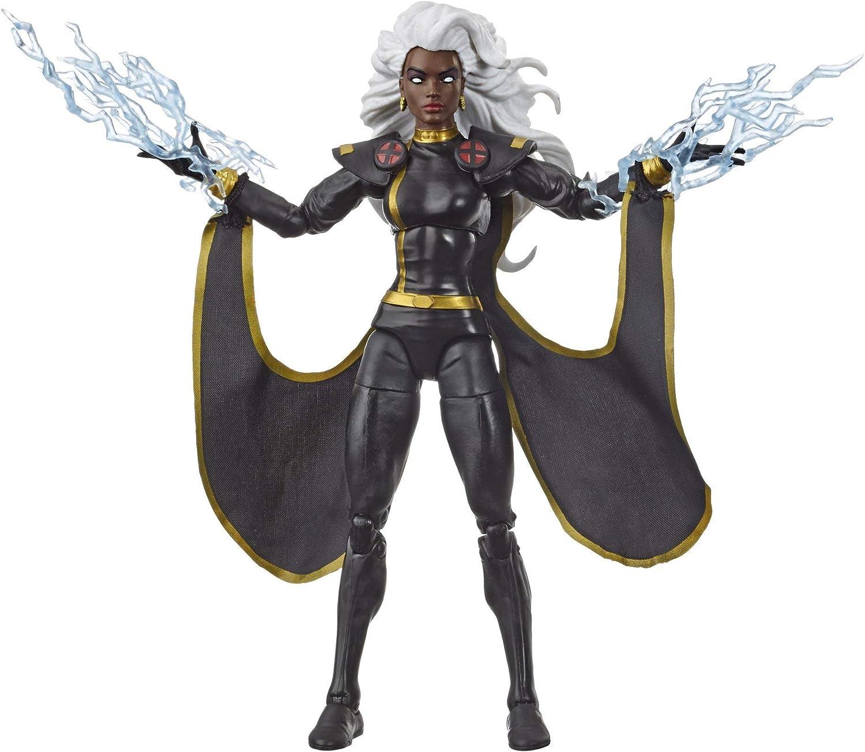Color Negro Marvel Figura Vintage Storm E9660