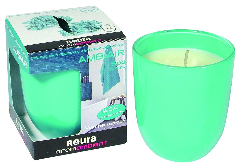 Amazon.com: Roura Pomegranate Scented Candle Glass 2.96x2.52 inch: Home & Kitchen