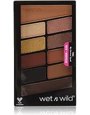 Wet N Wild Color Icon 10 Pan Eyeshadow Palette, 0.04581259 Kilogram