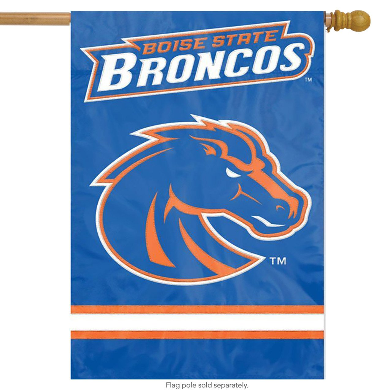 Party Animal Boise State Broncos Banner College Flag