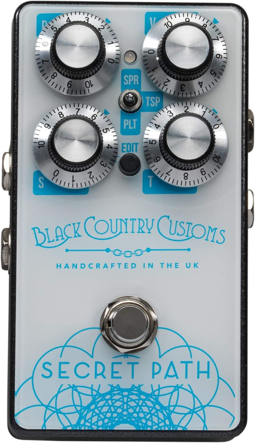 Black Country Customs by Laney - Secret Path - Boutique Effect Pedal - Reverb Shimmer
