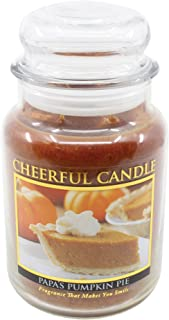 product image for A Cheerful Giver Papa's Pumpkin Pie Jar Candle, 24-Ounce, 24oz