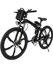 Speedrid Bicicleta eléctrica ebike electrica 26/20 Ebike ebike montaña para Bicicleta con Motor sin escobillas 250 W Batería de Litio 36 V 8 Ah Shimano Velocidad 21/7 (Tiempo de Entrega 5-7 días)