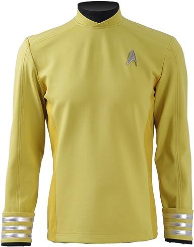 cosparts Star Trek más allá de Comandante Kirk Uniforme Cosplay ...
