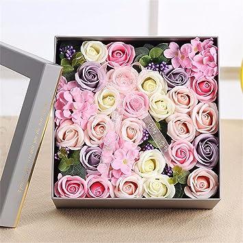 weihnachten geschenke valentinstag geschenk seife blume blume geschenk freundin freundin geburtstag geschenk zu versenden rosa