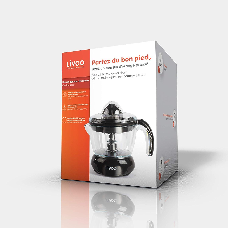 LIVOO DOD131N Presse Agrumes Électrique | Pour jus d'orange