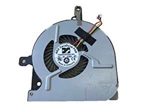 KBR Replacement CPU Cooling Fan for Toshiba Satellite C50-B C50D-B C50DT-B C50T-B C55-B C55D-B C55T-B C55-B5100 C55-B5200 C55-B5300 Series Laptop P/N: DC28000EPR0 FN0570-A1033L3AL MF60070V1-C330-G99