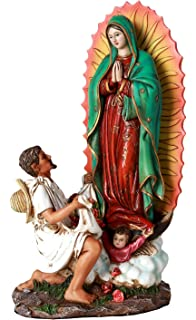 Pacific Giftware 10 Inch Statue Our Lady Of Guadalupe San St Juan Diego Saint Estatua Virgen
