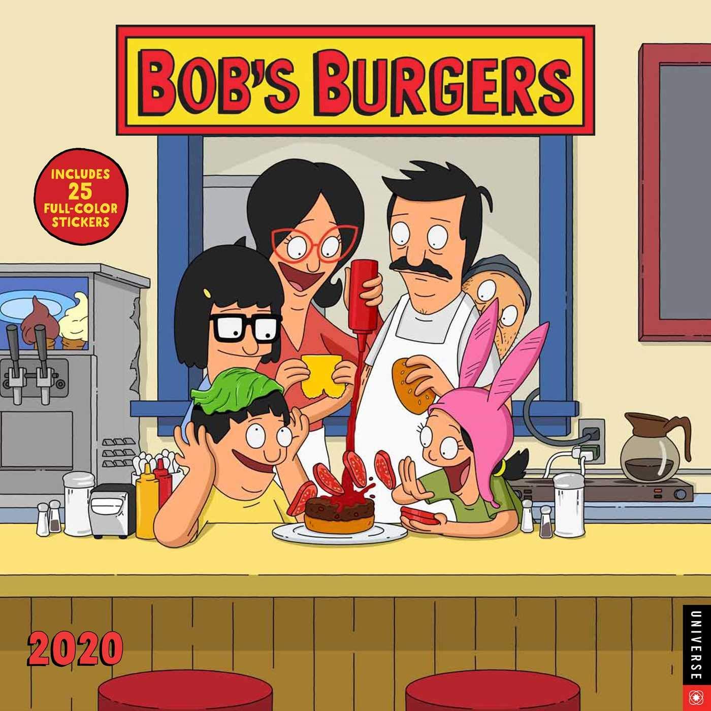 Bob's Burgers 2020 Wall Calendar by Universe Publishing