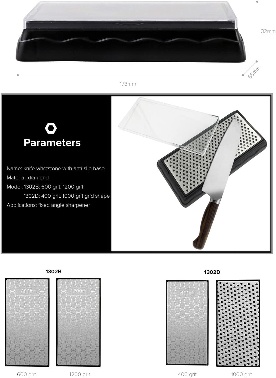 Afilador de cuchillos profesional de doble cara con diamante N//D DMD