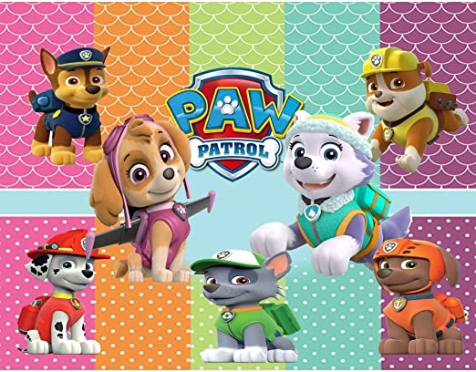 Paw Patrol Edible Print Premium Cupcake//Cookie Toppers Frosting Sheets 2 Sizes