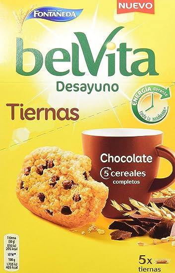 Fontaneda Galletas Belvita Tiernas Chocolate , Caja 250 gr ...