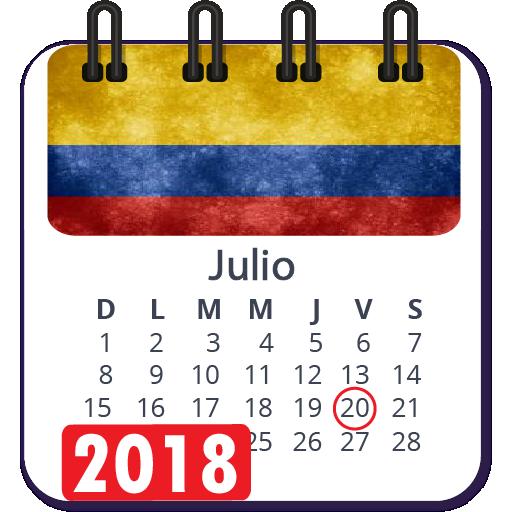 Calendario 2018 colombia con festivos semana santa: Amazon.es ...
