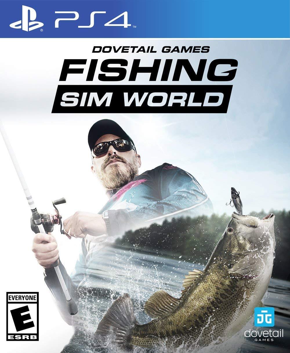 Amazon Com Fishing Sim World Playstation 4 Maximum Games Llc Video Games