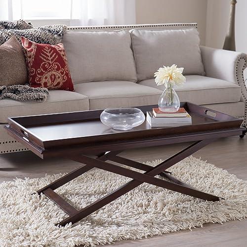 Furniture of America Aaron Coffee Table, Black