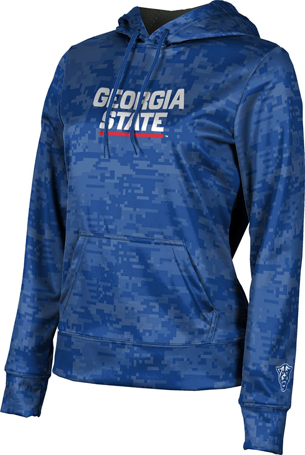 Digi Camo School Spirit Sweatshirt Georgia State University Girls Pullover Hoodie