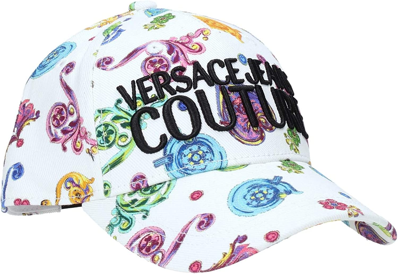 Versace Gorra White Multicolor para Adulto Unisex
