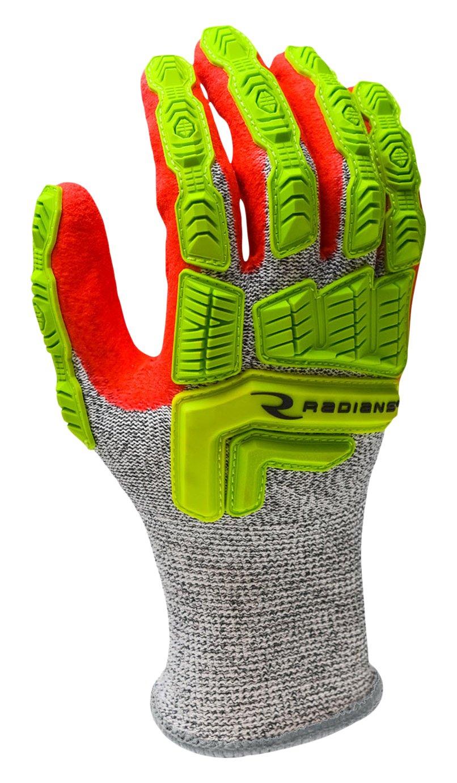 Radians RWG603L Rwg603 Cut Protection Sandy Foam Nitrile Coated Glove, Large