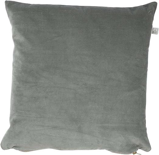 Dutch Decor Kolon cojín, algodón, luz Jade/Jade, 45 x 45 x 15 cm: Amazon.es: Hogar