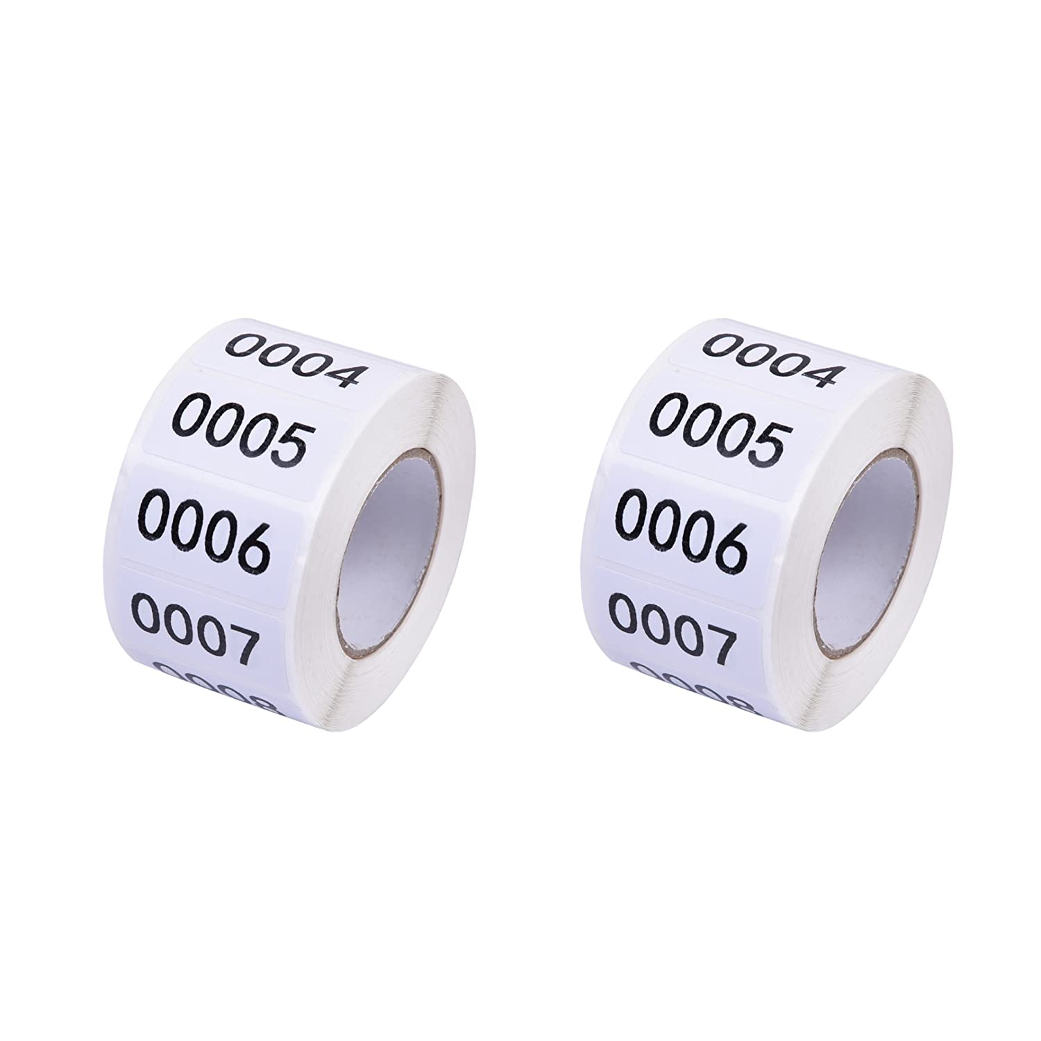 Number Labels - 2 Pack Inventory Labels Consecutive Number Labels Inventory Stickers Product Claiming Labels 1-1000 Clothes Numbers, Moving Box Numbering 0.75 x 1.5 Size Labels Modern Bethel