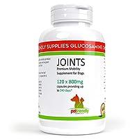 Glucosamina, suplemento articular para perros, ayuda con la artritis, glucosamina HCL, condroitina