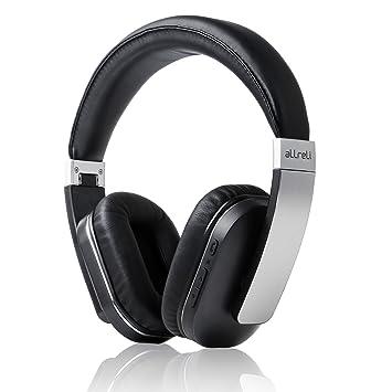 aLLreLi F5 Auriculares Bluetooth Inalámbricos Estéreos para Smartphones, iPhones, iPads, ordenadores y tabletas, negro: Amazon.es: Electrónica