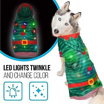 Amazon.com: K9 Casuals - Disfraz de Navidad para perro con ...