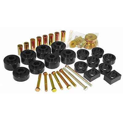 Prothane 6-107-BL Black Body and Cab Mount Bushing Kit - 20 Piece: Automotive